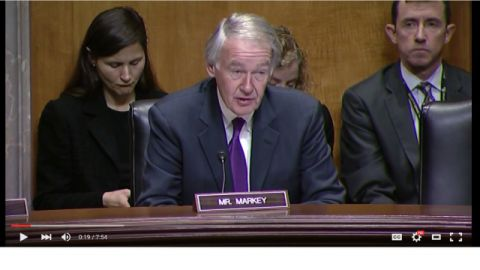 Senateur Edward J. Markey (Massachusetts)
