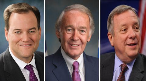 Senateurs Murphy, Markey et Durbin