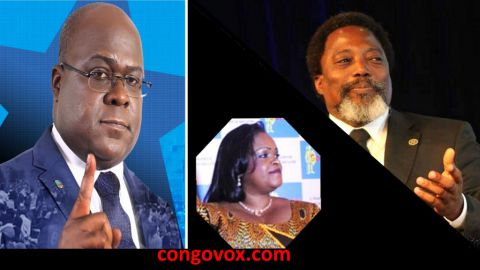 Felix Tshisekedi, Carole Agito, Joseph Kabila