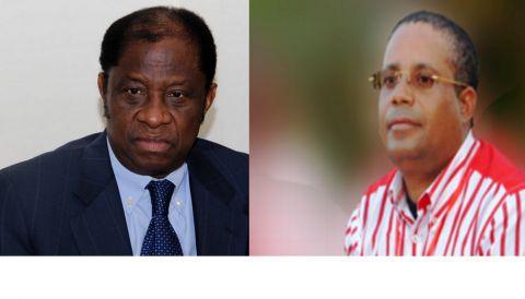 Alexis Tambwe Mwamba et Jean-Claude Muyambo