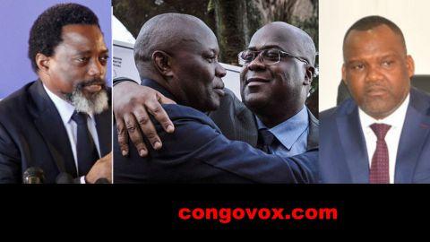 Joseph Kabila, Vital Kamerhe, Felix Tshisekedi, Corneille Nangaa