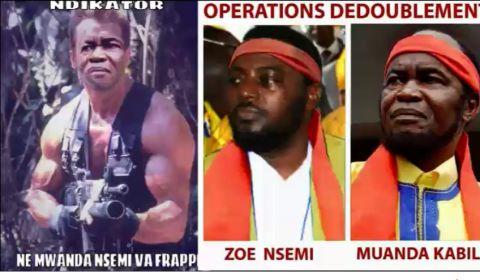 Zoe Kabila et Ne Mwanda Nsemi