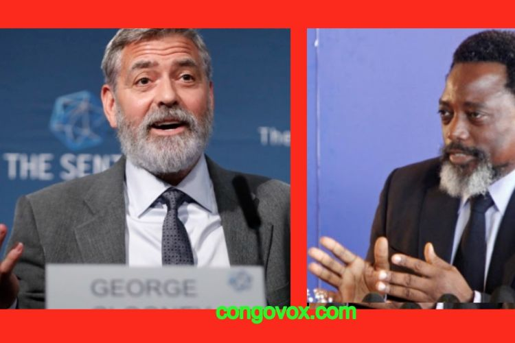 George Cloney, Joseph Kabila